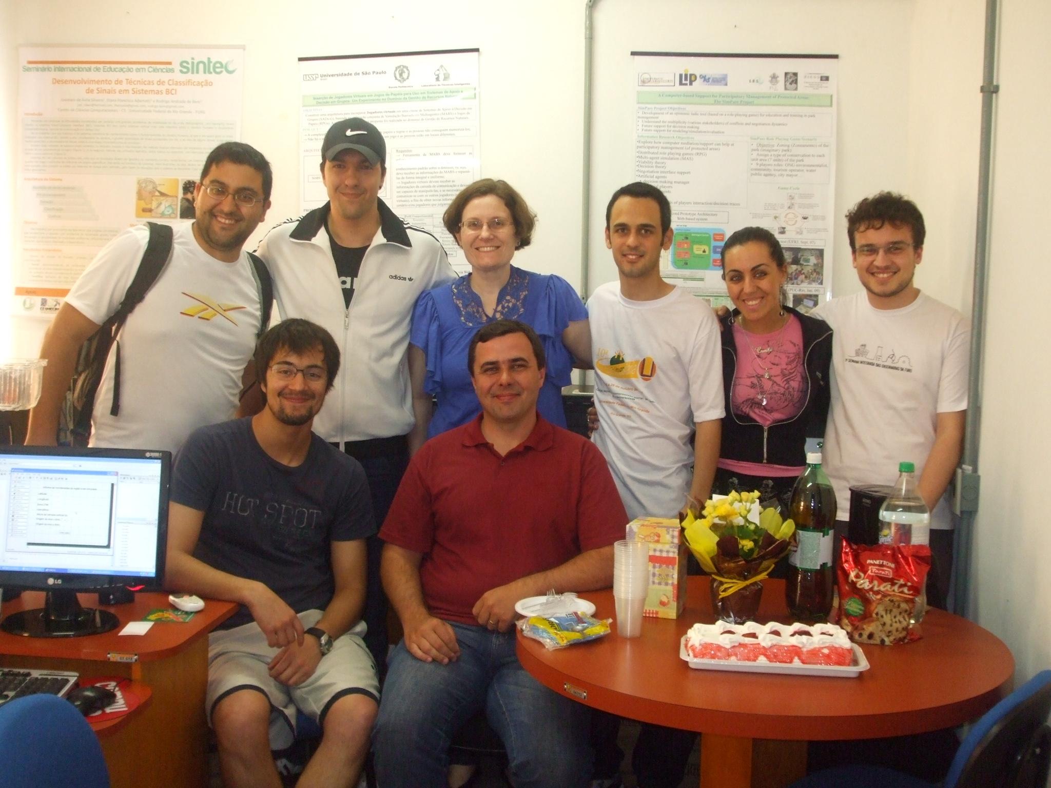 Aniversário 2011 Lab-FURG